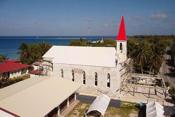L'église de Tiputa parée pour ses 100 ans