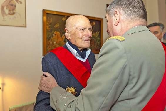 Pierre Simonet, l'un des trois derniers compagnons de la Libération, est décédé