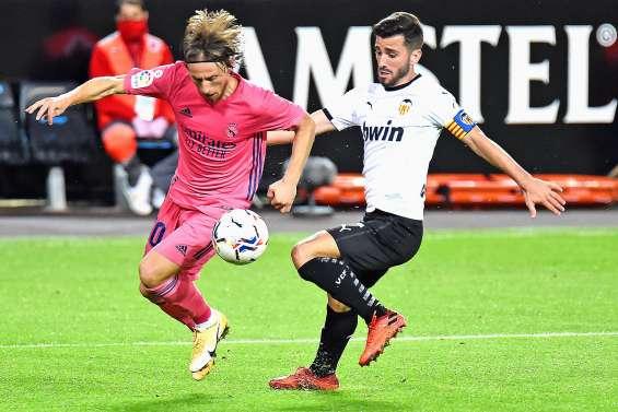 Le Real Madrid prend une claque à Valence