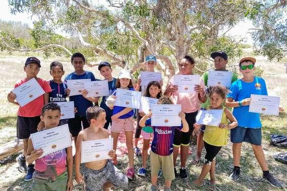 Un trail pour les enfants sur le parcours de santé de Déva