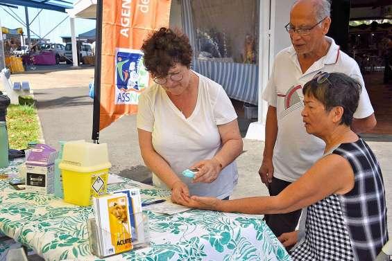 Diabète : dépistages gratuits au marché  de Moselle