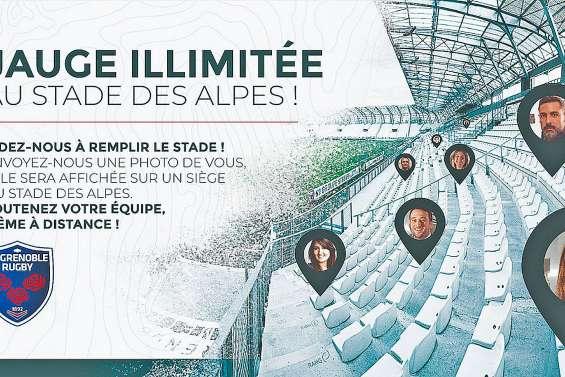 Le public de Grenoble remplacé par... des photos de supporters
