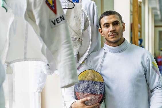 Ruben Limardo, champion olympique et coursier