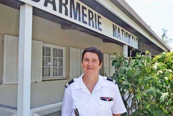 La capitaine Lydia Windstein prend  le commandement de la gendarmerie