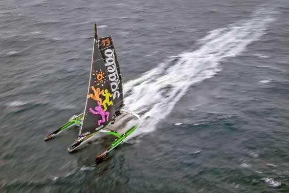 Deux bateaux en course pour un seul record du monde