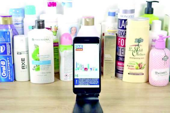 L'application qui scanne les cosmétiques