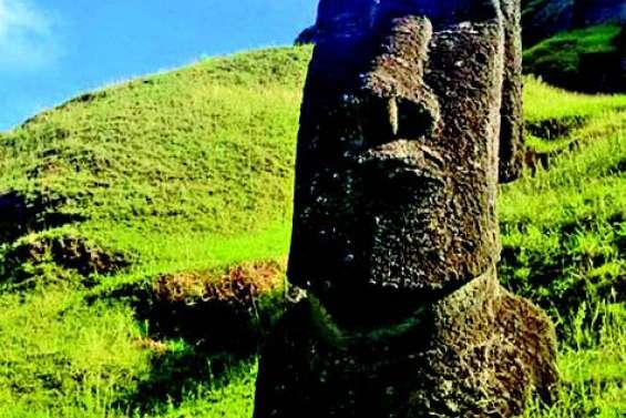 Les moaï indiquaient les sources d'eau douce