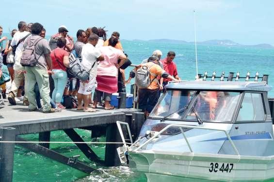 Un service de navettes maritimes revu lancé pour la rentrée