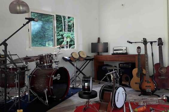 Des cours de musique à Dumbéa-rivière dès la rentrée scolaire