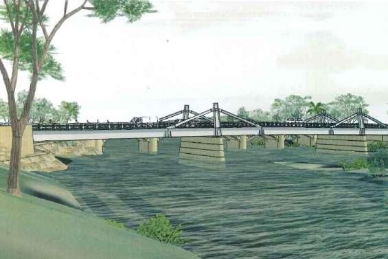 Un nouveau pont au-dessus de la Dumbéa