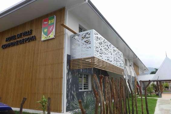 L'extension de la mairie de Poya est ouverte