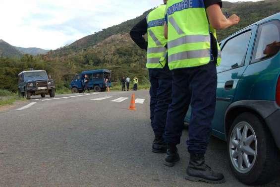 Descente de gendarmerie à Houaïlou