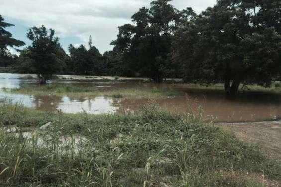 Thio et Canala fortement touchées par les pluies
