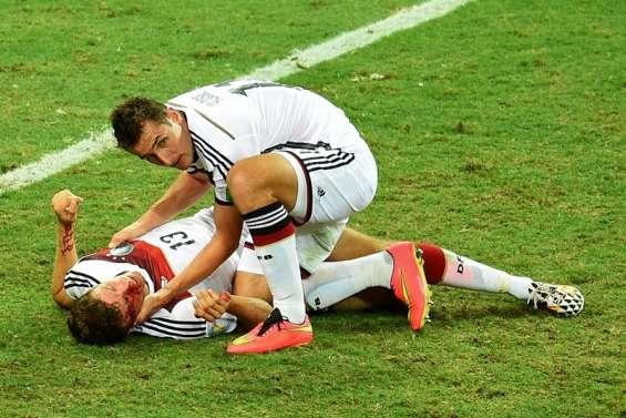 Müller a fini en sang
