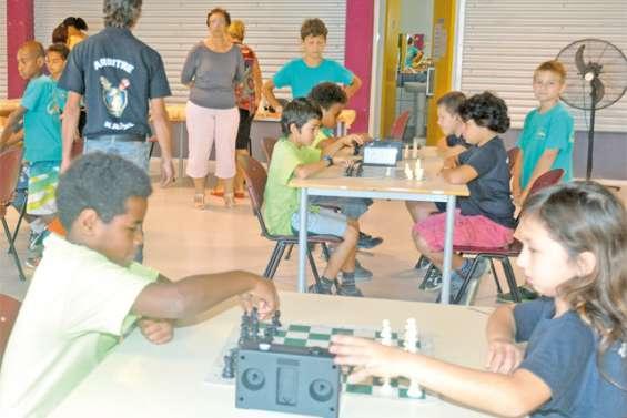 Les échecs autorisés à l'école