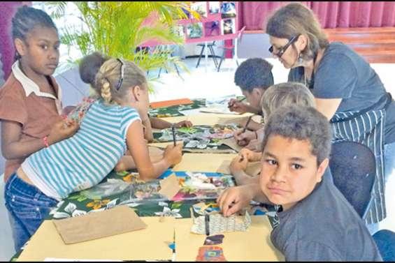 A la page tahitienne