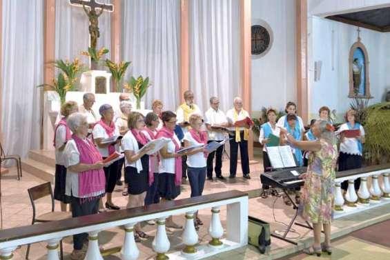 La chorale la Chanterelle émerveille l'auditoire