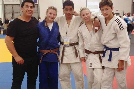 Les judokas en moisson à Sydney