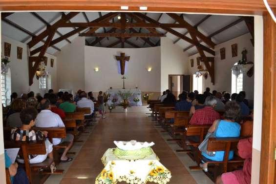 Sainte-Anne vit sa première messe
