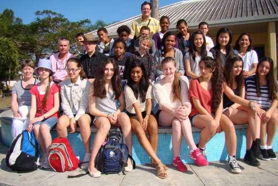 Le collège à l'heure australienne