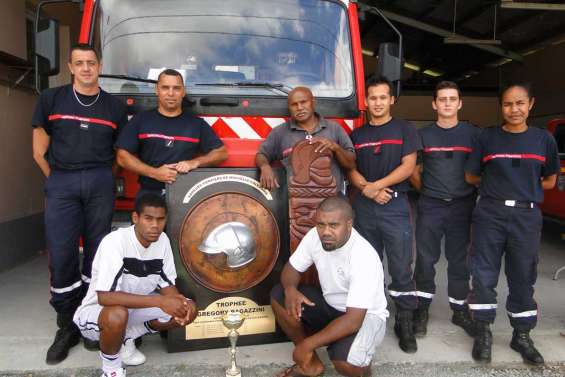 Les pompiers vont droit au but