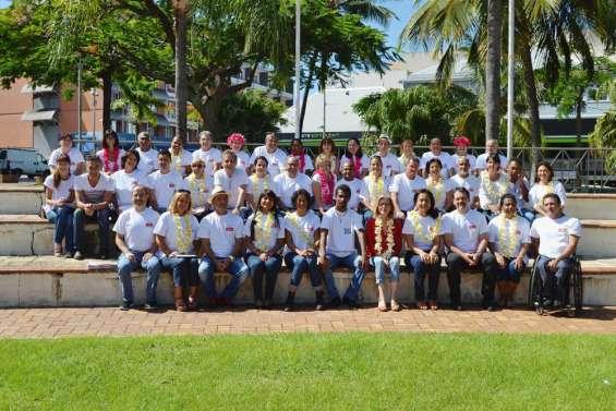 53 Calédoniens ensemble