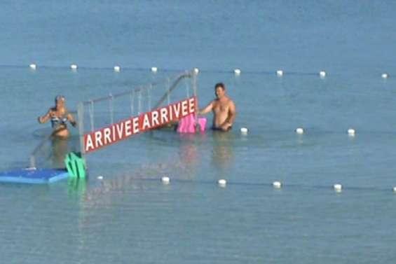 Côté coulisses : la nage en eau libre à Ouvéa [Vidéo]