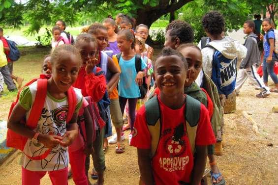 Les Kunié retrouvent leur école
