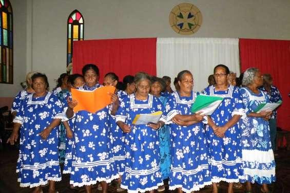 Kunié ouvre son chœur