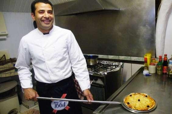 Jean -Marc Vannho, le pizzaïolo kunié