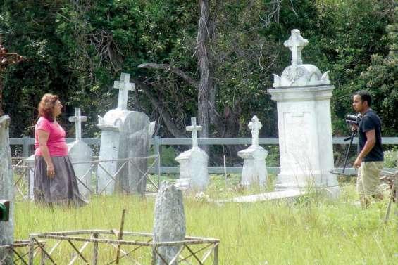 Le cimetière du bagne à la télé