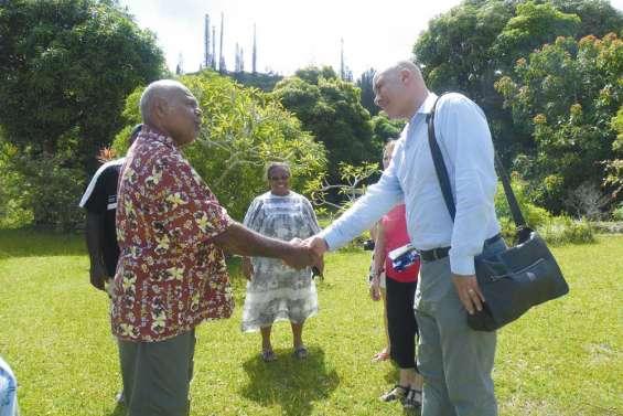 Le consul général kiwi en visite
