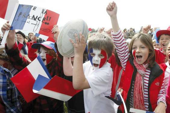 Les Français en force à la Coupe du monde de rugby