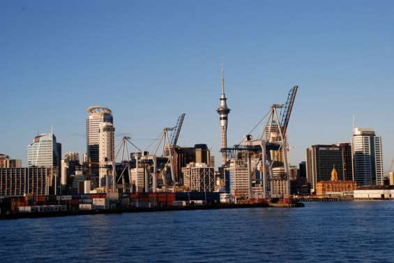 Le port d'Auckland bloqué par une grève
