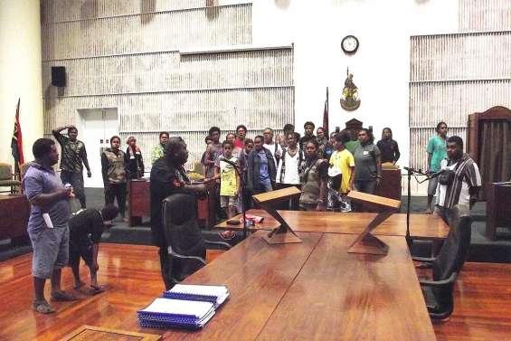 La crème de l'internat de Baganda au Vanuatu
