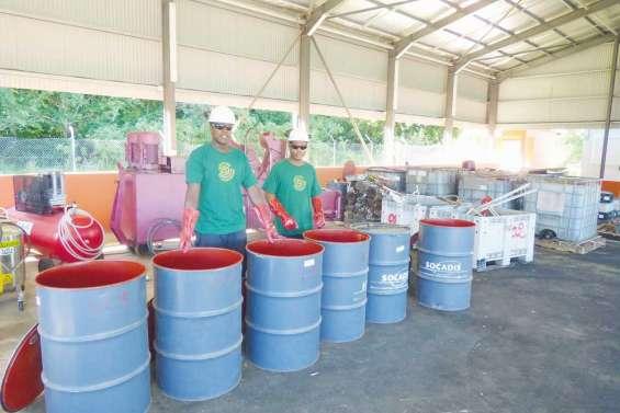 Cent kilos de déchets  phytosanitaires