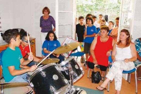 Les apprentis musiciens charment leur public