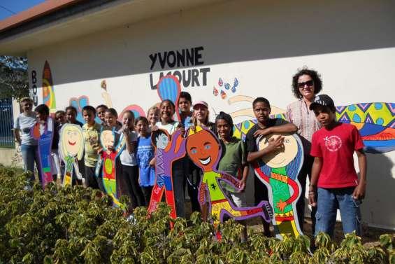 Yvonne-Lacourt aux couleurs des Jeux