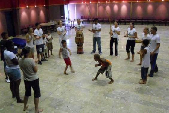 Une capoeira endiablée