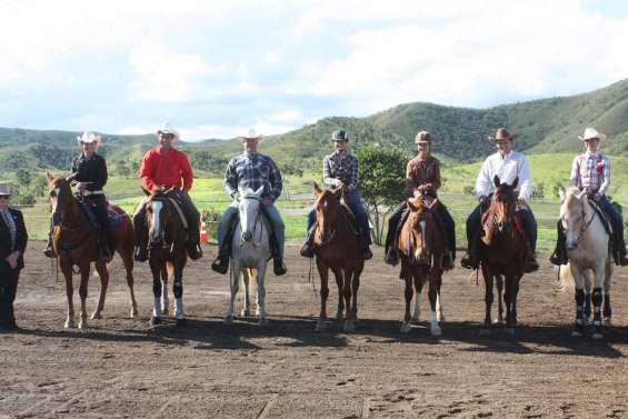 L'équitation western ne faiblit pas