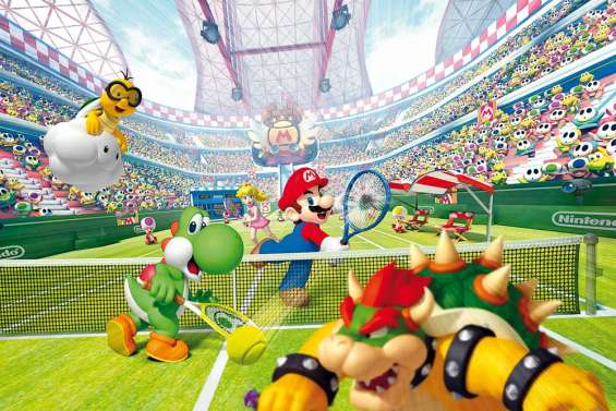Mario, set et match