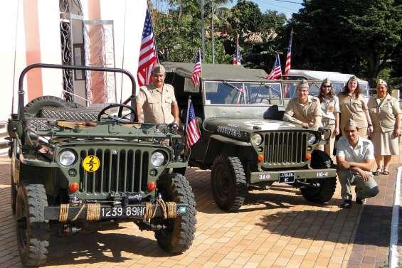Les jeeps débarquent à Teremba