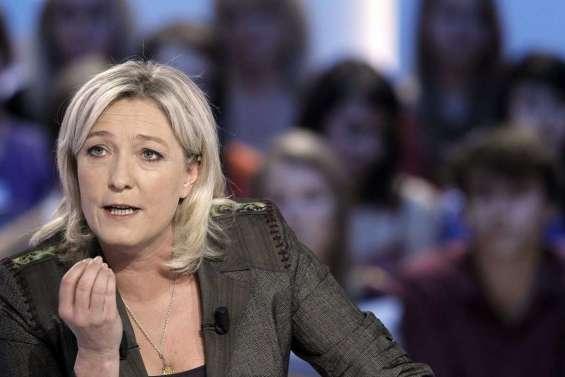 Marine Le Pen, Front national : « Le danger ne vient pas  de la France »