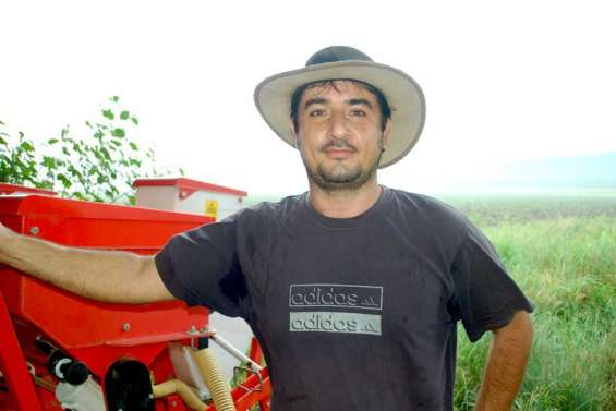 David Perrard, agriculteur agitateur