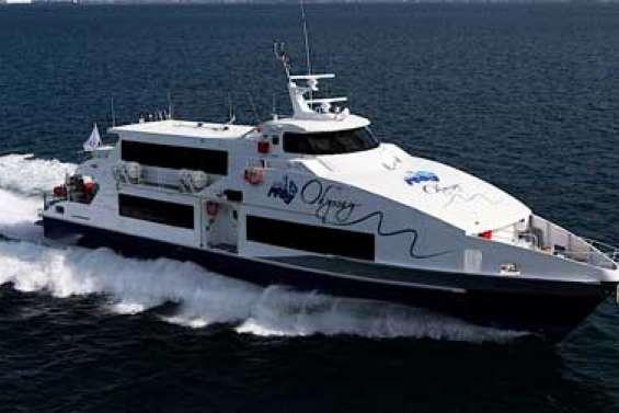 L'Odyssey dans le lagon