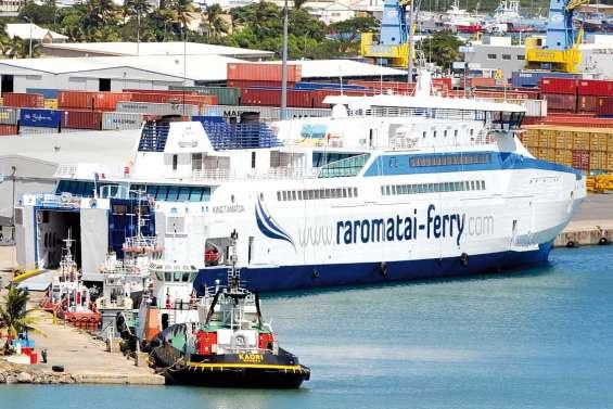 Le ferry King Tamatoa toujours en rade