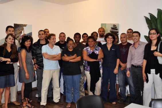 Douze Calédoniens en formation à Marseille
