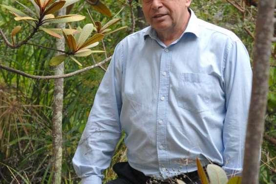 Gilles Fédière, directeur de l'IRD, l'Africain