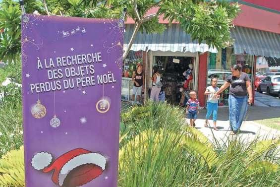 La féerie de Noël gagne le commerce
