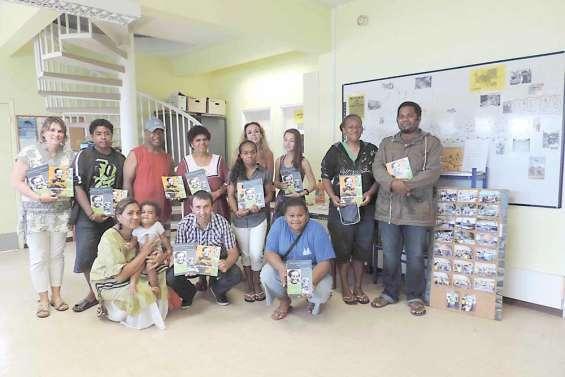 Les collégiens ont réalisé un livre sur Tjibaou